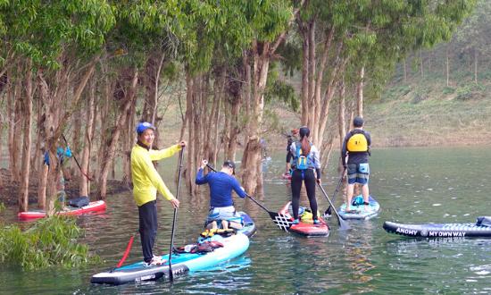 Meditours: Chill Chill - Khám Phá Hồ Thác Bà (Kayaking, Biking, Camping)