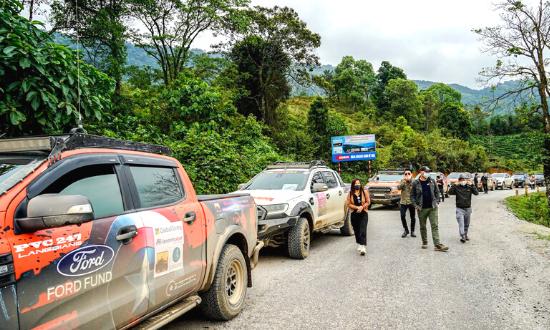 Meditours: Caravan - Camping Tà Xùa (3N2D)