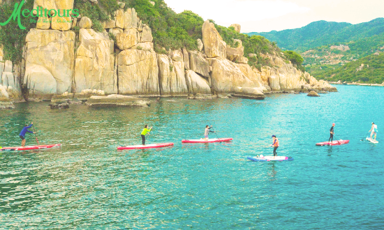 Meditours: Kayaking & SUP - Khám Phá Hồ Hoà Bình - Vịnh Ngòi Hoa 2 ngày 1 đêm