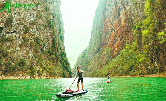 Meditours: SUP Sông Nho Quế Hẻm Tu Sản